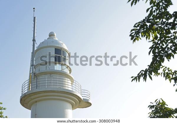 Lighthouse of Noto Peninsula in Japan