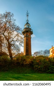 Lighthouse Gdańsk Nowy Port - a historic, closed lighthouse on the Polish coast of the Baltic Sea, located in the Nowy Port district of the city of Gdańsk, Pomeranian Voivodeship