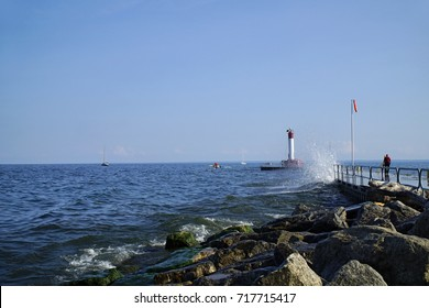 Lighthouse at Oakville Homecoming Trail Ontario Canada