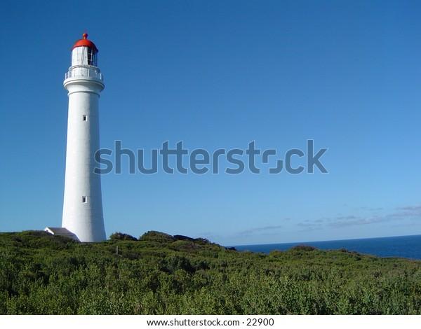 Lighthouse on the coast near Melbourne