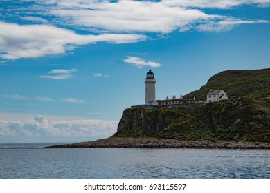 Lighthouse on Davaar Island on the scottish west coast.