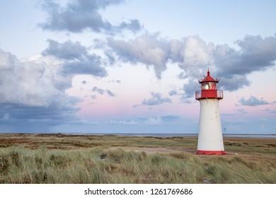Lighthouse on dunes