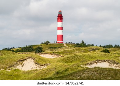 Lighthouse on the dunes of Amrum