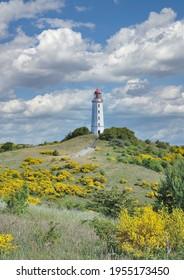 Leuchtturm auf dem Hiddensee am Ostsee, Mecklenburg-Vorpommern, Deutschland