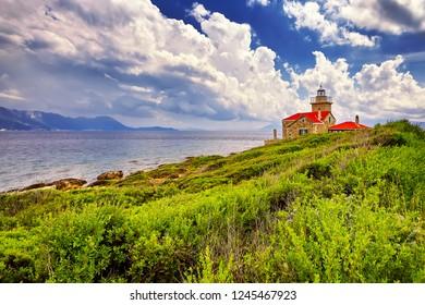 The Lighthouse on Hvar island, Croatia