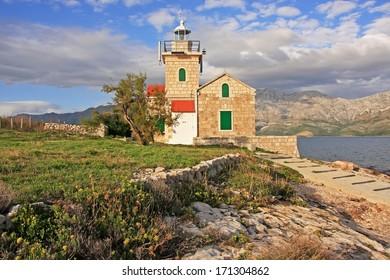 Lighthouse on Hvar island, Croatia