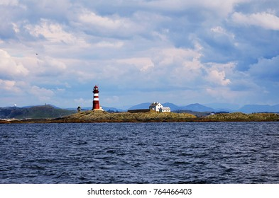 Lighthouse on  Norwegian Islands