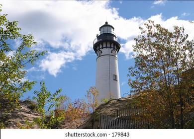 Lighthouse on Sandy Hill