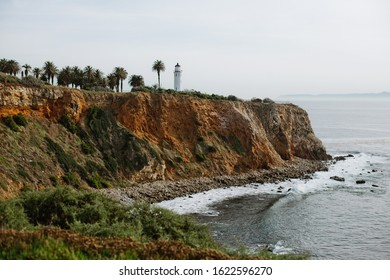 Lighthouse of Palos Verdes peninsula, South Bay California