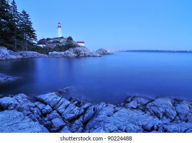 Lighthouse Park in West Vancouver, BC, Canada