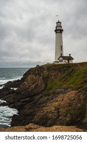 Lighthouse of the Point of the Dove of the Californian coast