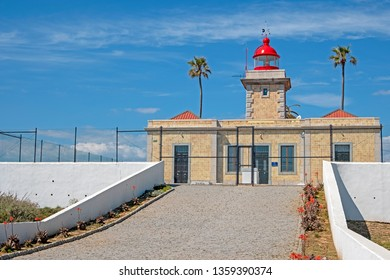 Lighthouse at Ponte Piedade in Lagos Portugal