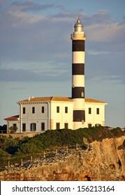 Lighthouse in Porto Colom (MAjorca - Spain)