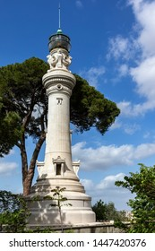 Lighthouse at the  Rome park