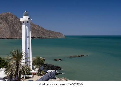 Lighthouse in San Felipe, Mexico
