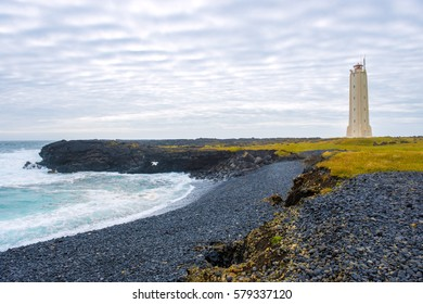The lighthouse at the Snaefellsnes peninsula, Iceland
