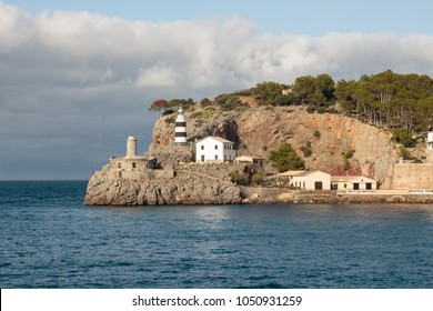 lighthouse in Soller (Majorca) image