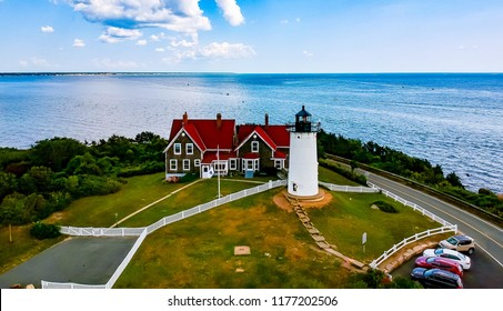 Lighthouse in the Summer