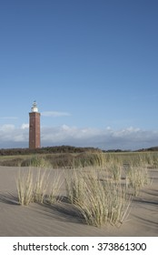 Lighthouse at a sunny day - vuurtoren