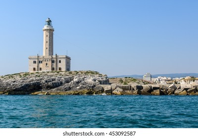 The lighthouse from Vieste Italy