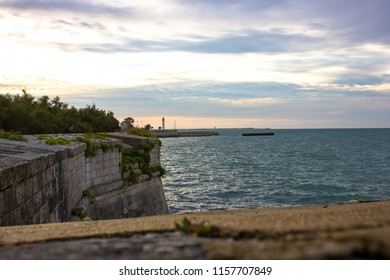 Lighthouse and Wall of the Fortifications of Vauban, France