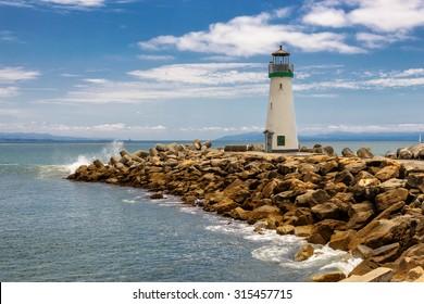 Lighthouse Walton Santa Cruz in California