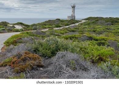 Lighthouse within the amazing Torndirrup National Park close to Albany, Western Australia