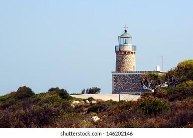 lighthouse at Zakynthos island, Greece