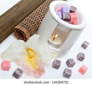 Lighting candle for aromatherapy burner