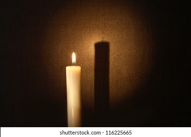 Candle and Shadows Images, Stock Photos & Vectors | Shutterstock