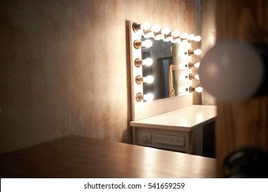 lighting in dressing room
