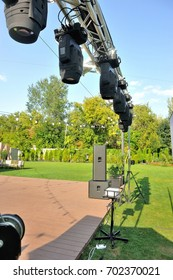 Lighting equipment for concerts of weddings and parties