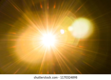 Lighting flare abstract