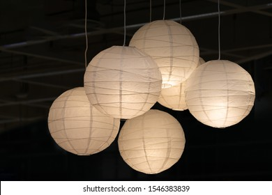 Lighting kits paper ball shape ceiling light bulbs group or Mulberry lamps set of modern interior decoration Japanese style contemporary
