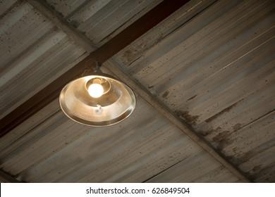 Lighting lamp under the ceiling