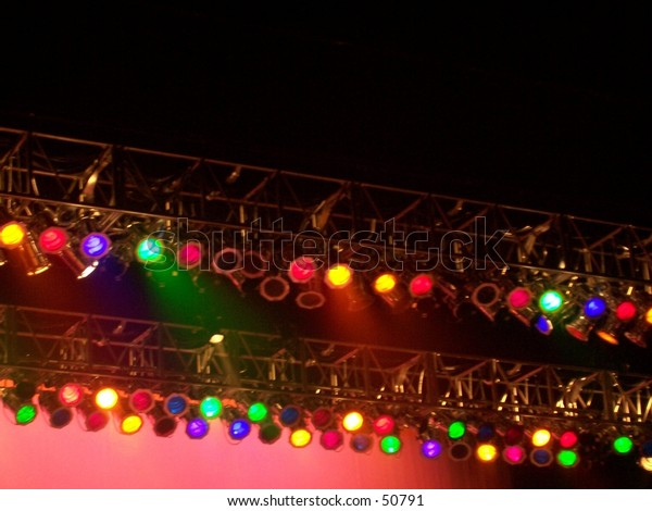 lighting the show