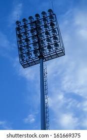 lighting in stadium