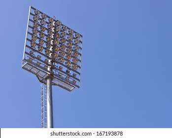Lighting in a stadium
