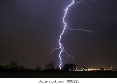 Lightning Cloud Bolt thunder Storm