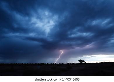 Volcano Lightning Images, Stock Photos & Vectors   Shutterstock