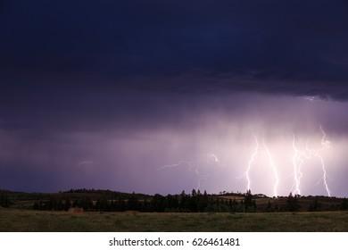 Lightning In Idaho