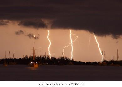 lightning in Key West