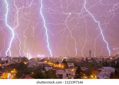 Lightning, natural phenomenon