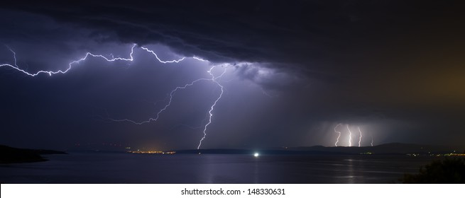 Lightning over Dalmatia