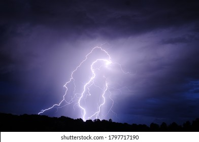 Lightning Pictures in New Mexico