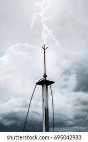 Lightning Rod Images Stock Photos Amp Vectors Shutterstock