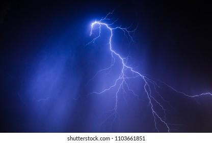 Lightning storm  lightning bolt  thunderstorm