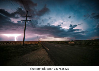 Lightning storm in Kansas