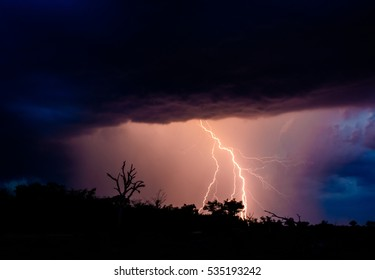 Lightning Storm, Sabi Sand Game Reserve, South Africa