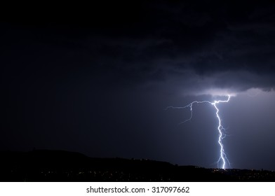 Lightning, Weather and Storms in night skies